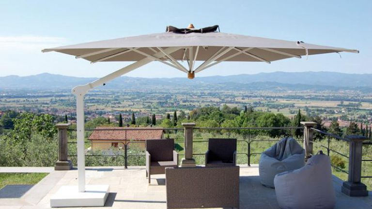Spillantini ombrelloni professionali in legno e for Ikea ombrelloni terrazzo