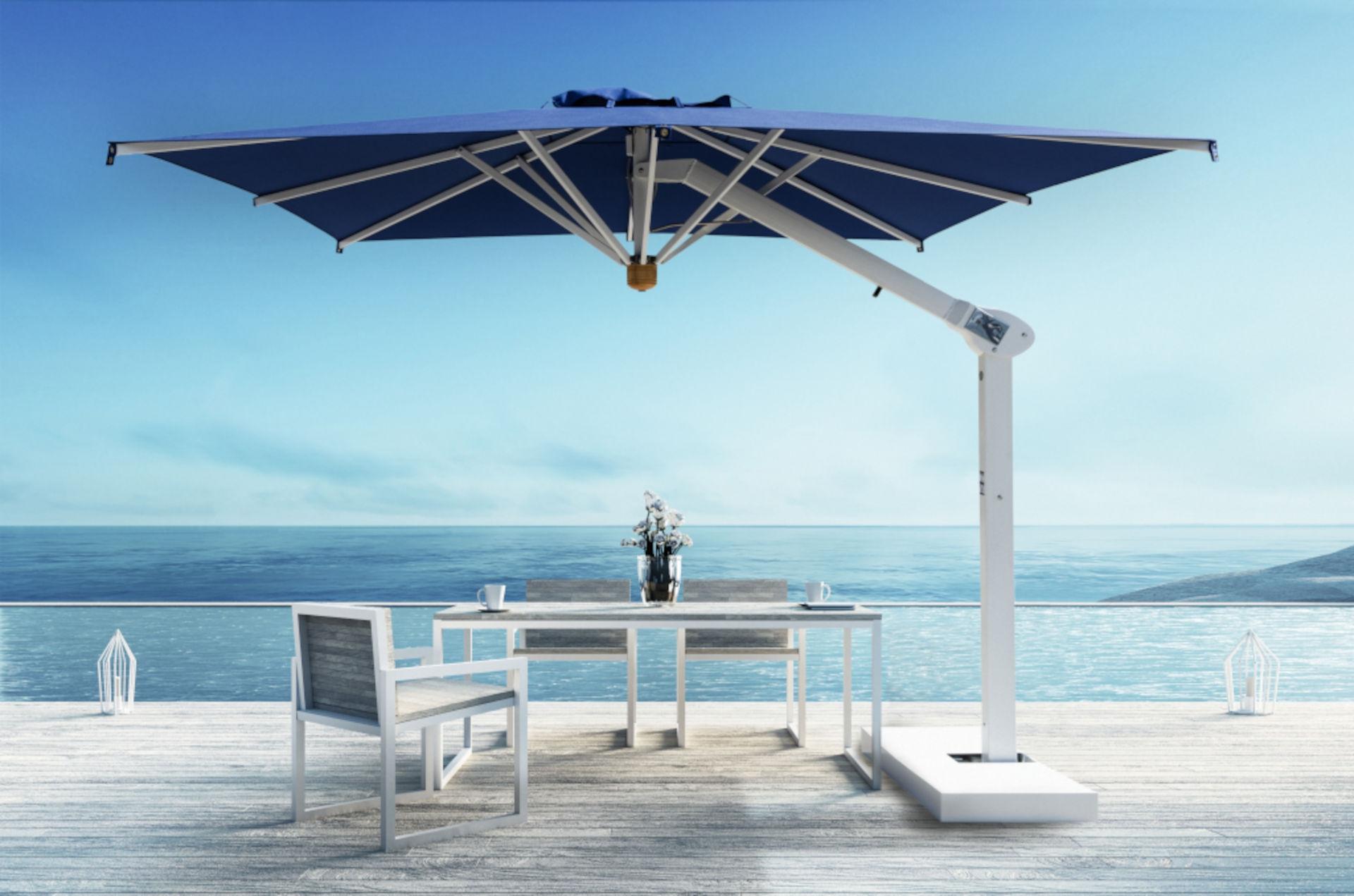 Ombrelloni da esterno per bar e ristoranti for Ombrelloni da esterno ikea